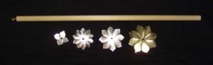 Lotus Wand Unpainted