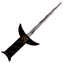 Flaming Banishing Dagger with Eye of Horus