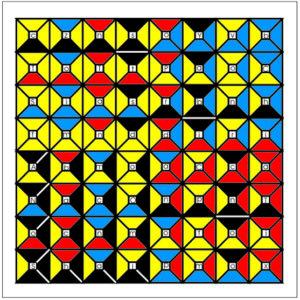 Enochian Chess Earth Board