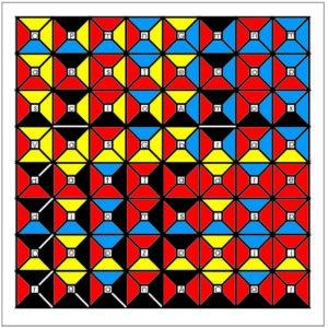 Enochian Chess Fire Board